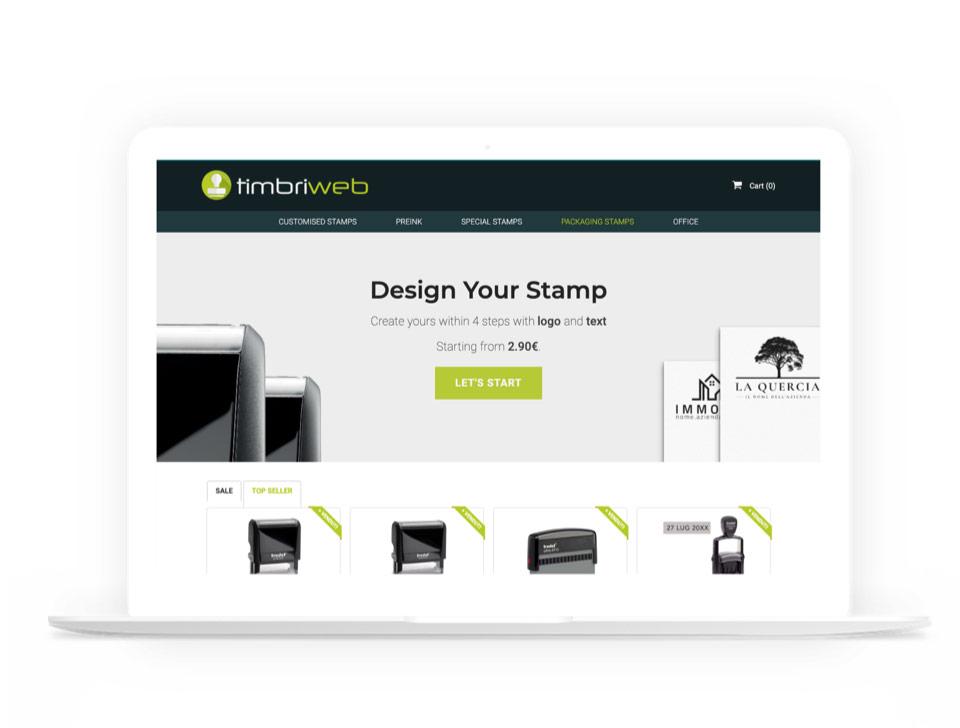 TimbriWeb eCommerce Design and Development